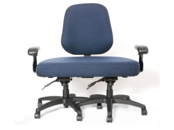 <p>This office chair was custom-built by a company called ErgoGenesis for a client who exceeded the 600-pound limit of its other chairs. It cost $1,800.</p>