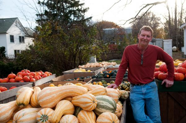 David Heisler grows 38 varieties of pumpkins on his Maryland farm.