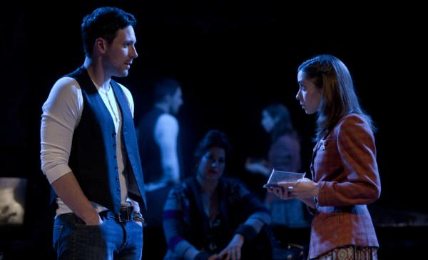 In <em>Once</em>, based on the cult-favorite Irish indie movie, a guy (Steve Kazee) and a girl (Cristin Milioti) fall in love during a whirlwind week of songwriting in Dublin.