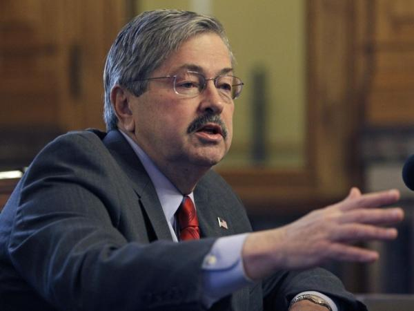Iowa Gov. Terry Branstad.