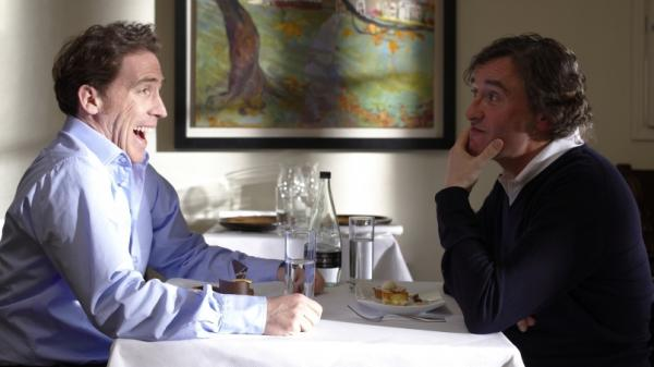 <strong>'The Trip': </strong>Steve Coogan (right) and his friend Rob Brydon tour Northern England and engage in a battle of competing impressions in the road trip comedy.