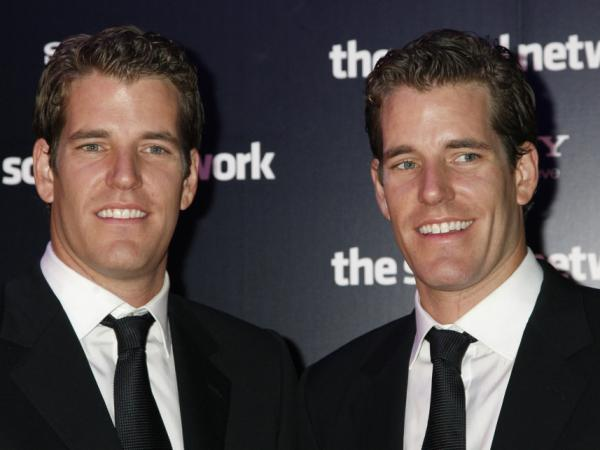 Tyler (left) and Cameron Winklevoss.