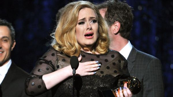 "Adele won the song of the year category at this year's Grammy Awards for her tear-jerker ""Someone Like You."""