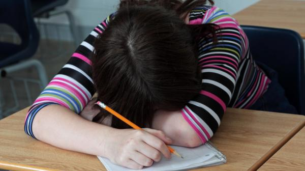 Here's one clue that your child may not be getting enough sleep.