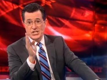Stephen Colbert, explaining his absence.