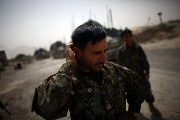Brig. Gen. Ahmed Habbibi commands the Afghan National Army in Panjwai district. He says the army needs training and equipment, but he demurred when asked whether his troops will be ready by 2014.