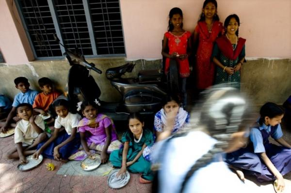 Akshaya Patra's daily meals keep dropout rates low and provide many parents, who cannot afford to feed their kids adequately, a reason to send them to school, the foundation's executive director, Shridhar Venkat, says.