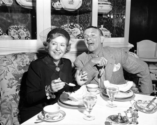 "In 1940, Gracie Allen, the female half of the comedy team Burns and Allen, announced her intention to run for president on the Surprise Party ticket. The party's mascot was a kangaroo; the slogan was ""It's in the bag."""