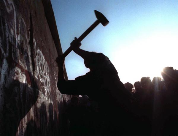 The wall between East and West Germany was torn down after 28 years on Nov. 12, 1989.