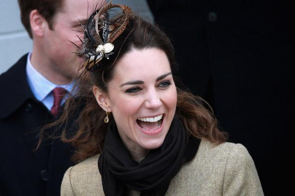 Middleton herself is known for her eccentric taste in hats. She donned this plumed number as she and Prince William visited Trearddur Bay Lifeboat Station at Anglesey on Feb. 24 in Trearddur, Wales.