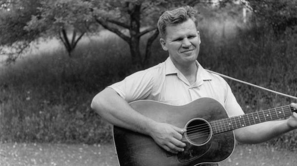 "Arthel Lane ""Doc"" Watson in the 1960s."