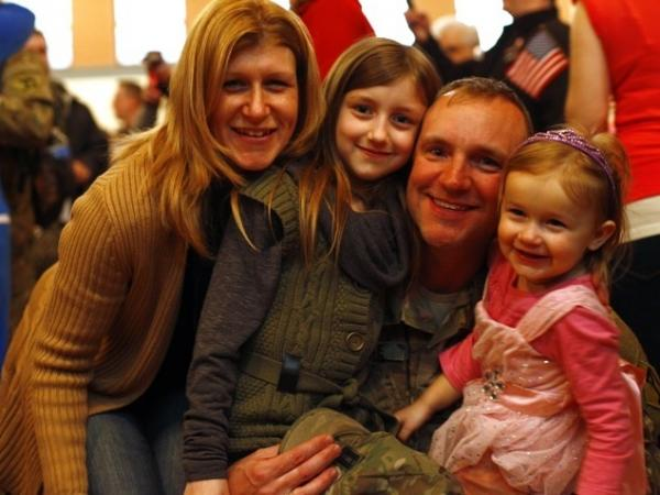 Michael Currie was stationed in Afghanistan for the past year, leaving behind his wife and daughters. His most vivid memory of his service was the 10th anniversary of Sept. 11.