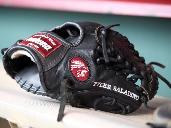 Tyler Saladino's glove.