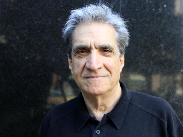 Robert Pinsky visits NPR headquarters in Washington D.C., on Thursday.