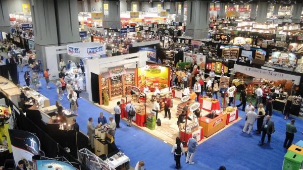 The Fancy Food Show floor in 2011.