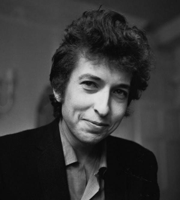 Bob Dylan in April 1965, just as he was going electric.