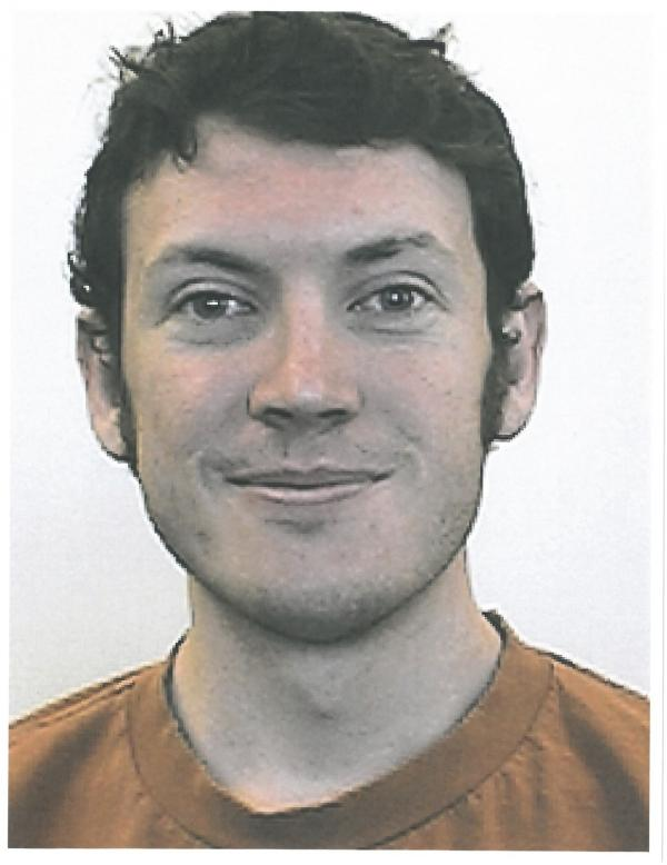 A photo of James Holmes released by the University of Colorado Denver.
