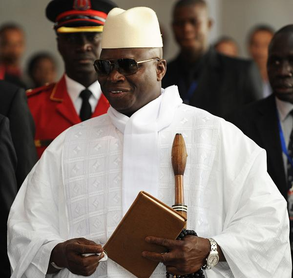 Gambian President Yahya Jammeh says all 47 death-row inmates will be executed by mid-September. Nine were killed this week by firing squad. Gambia's human rights record has frequently come under criticism during the 18 years of rule by Jammeh, shown here attending the African Union summit last month in Ethiopia.