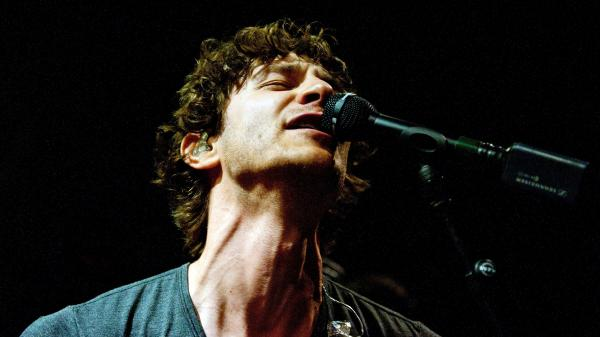 Gotye performing in Los Angeles in April.