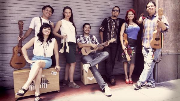 "Las Cafeteras, from Los Angeles, have made their own version of the classic <em>son jarocho</em> song ""La Bamba."""