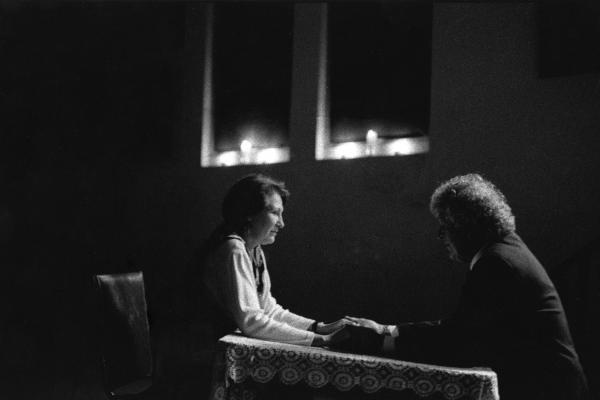 Reading at Cassadaga Spiritualist Camp, Cassadaga, Fla., 1996