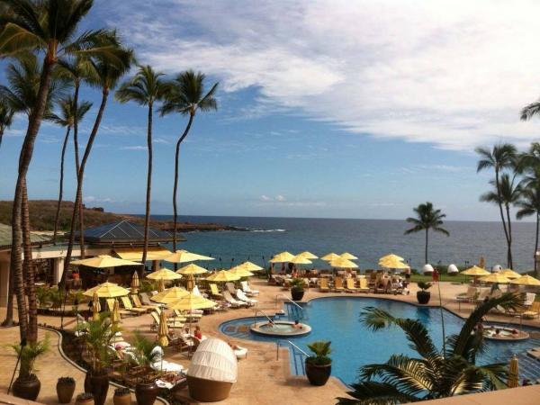 The Four Seasons resort on Lanai. Software mogul Larry Ellison recently bought virtually the entire Hawaiian island.
