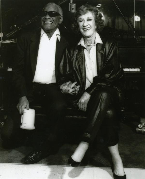 Ray Charles taped an episode of the show in January 1990.
