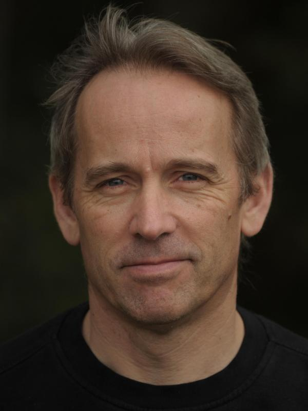 Author Jasper Fforde is best known for his Thursday Next series of literary fantasies. <em>The Last Dragonslayer</em> is his first book for younger readers.