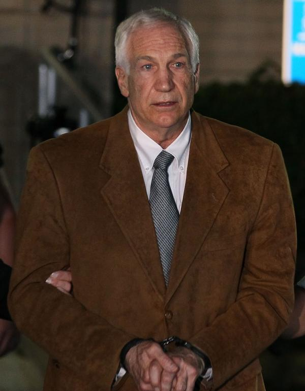 Jerry Sandusky, after his conviction in July.