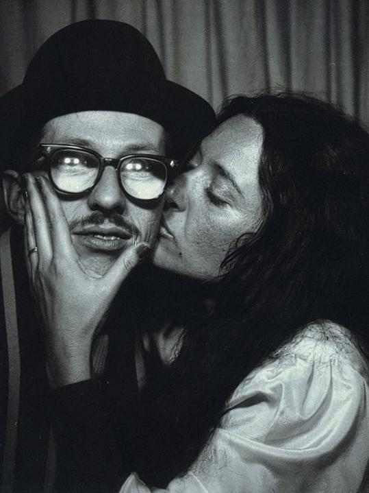 Robert Crumb and Aline Kominsky Crumb are comics artists. Together, they produced the autobiographical series <em>Dirty Laundry Comic</em>s.
