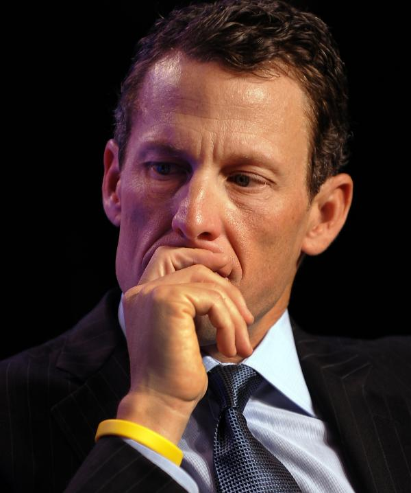Lance Armstrong in 2010.