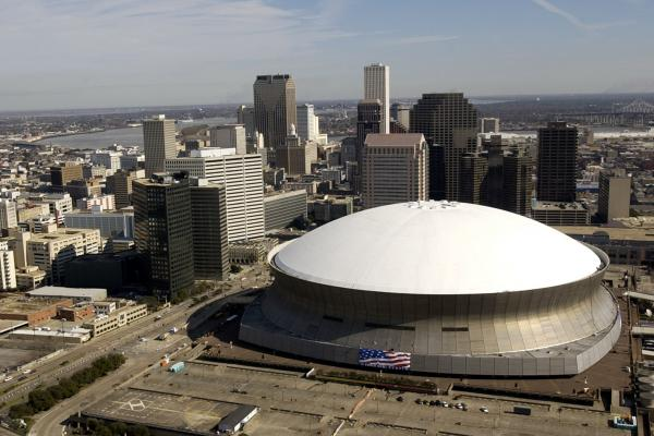 The Louisiana Superdome plays an iconic role in the skyline--and heart--of New Orleans.