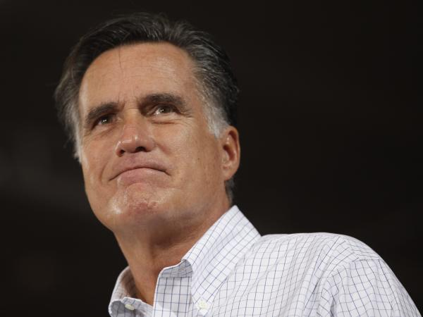 Mitt Romney at a campaign stop Monday in Avon Lake, Ohio.
