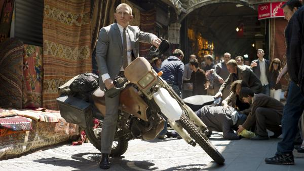 Daniel Craig stars as the quintessential MI6 agent, James Bond, in <em>Skyfall</em>. The Bond franchise is 50 years old this year.