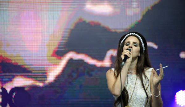Lana Del Rey performs in France in July. Her album, <em>Born To Die</em>, came out in January, to mixed reviews.