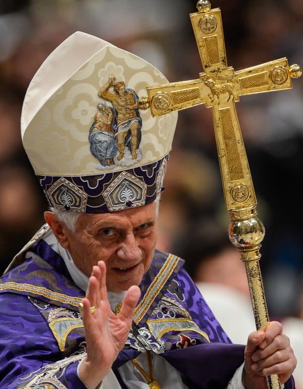 Pope Benedict XVI. He'll be spreading the word on Twitter.