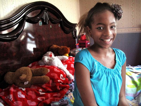 Maribel Ramos, 13, has both sickle cell disease and an abnormality of blood vessels called moyamoya. Both put her at risk of stroke, and, together, they add up to a 95 percent chance of a major stroke.