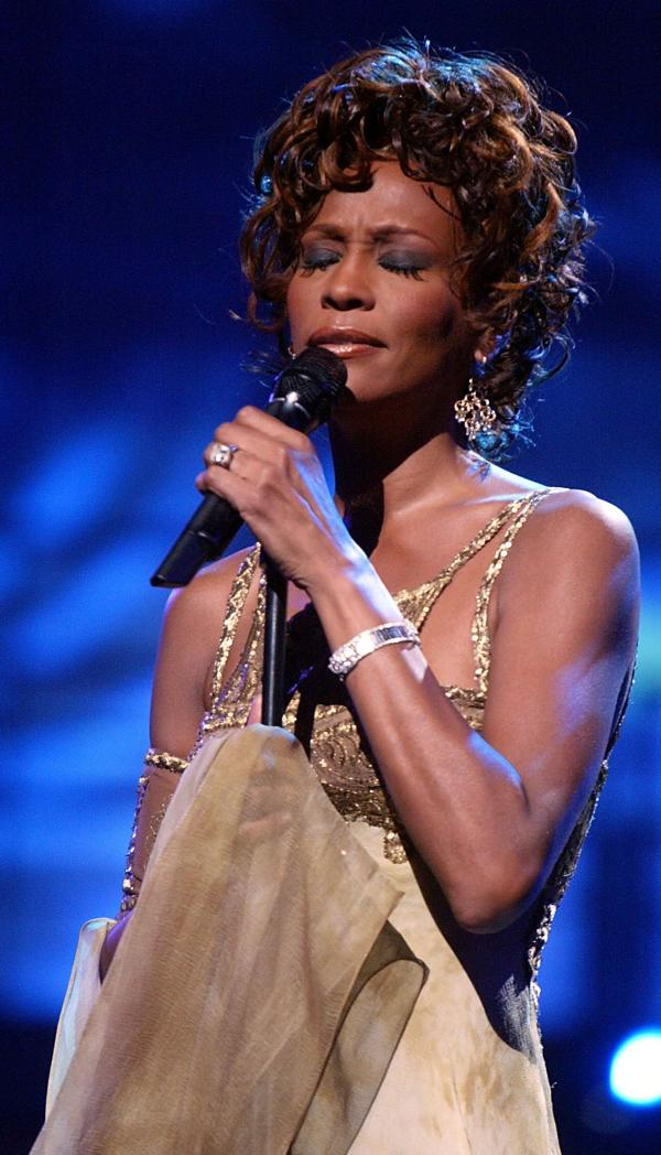 Whitney Houston in 2004.