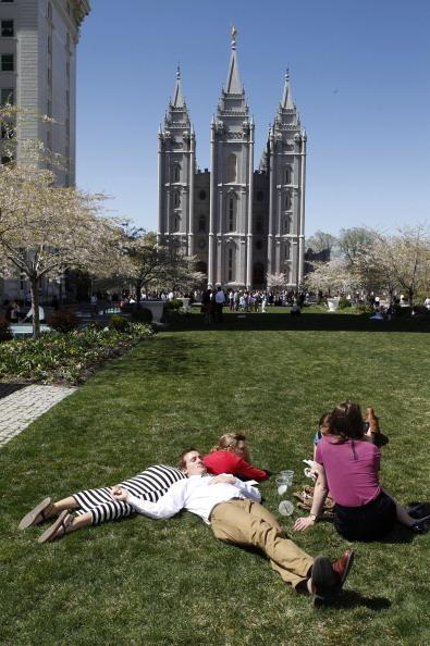 There may be fewer skirts sighted outside Mormon churches in Salt Lake City this Sunday.