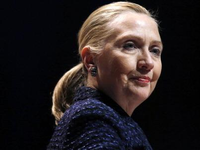 Secretary of State Hillary Clinton earlier this month in Dublin.