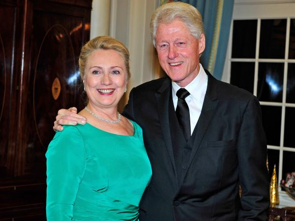 Secretary of State Hillary Clinton was discharged from a New York hospital today, after being treated for a blood clot. In December, Clinton and former President Bill Clinton attended a dinner for Kennedy honorees at the Department of State.