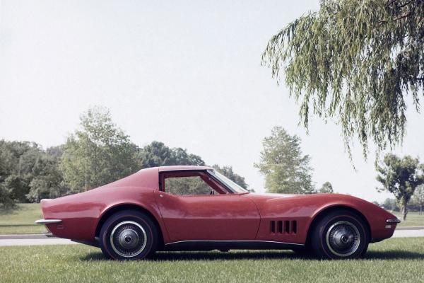 The 1968 Corvette.