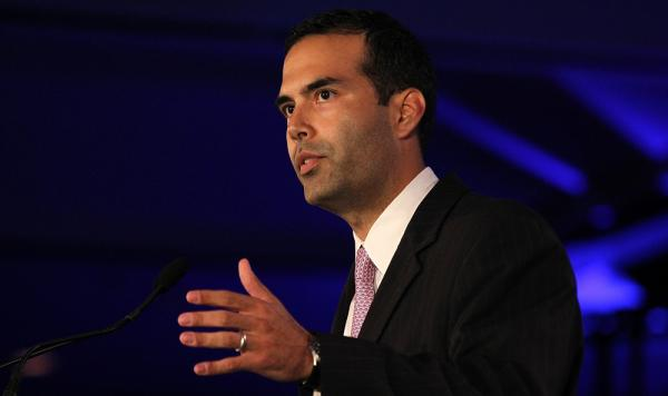 George P. Bush speaks during the 2011 Republican Leadership Conference in New Orleans.