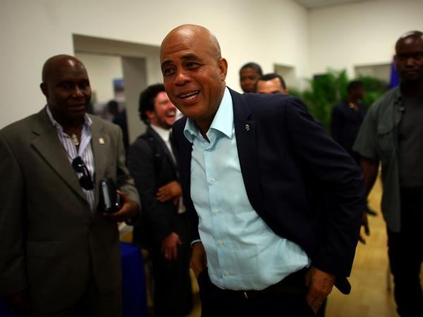 "Haitian President Michel Martelly, also known by his stage name ""Sweet Micky,"" is a former musician and businessman. Martelly says tourism can be a major tool to eradicate poverty in his country."
