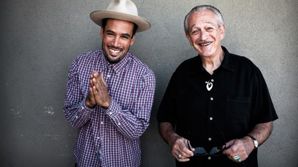Ben Harper and Charlie Musselwhite's new collaborative album is titled <em>Ge</em><em>t Up!</em>