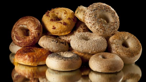 For better skin, maybe you should stick to the whole grain bagels.