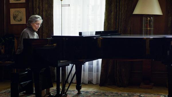 Emmanuelle Riva in Michael Haneke's <em>Amour</em>.