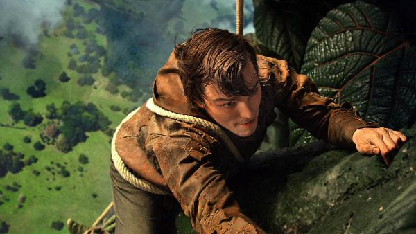 Nicholas Hoult plays the young Jack, who must wage battle against an ancient race of giants in <em>Jack the Giant Slayer.</em>