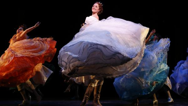 Laura Osnes appears in the title role of a new Broadway production of Rodgers and Hammerstein's <em>Cinderella</em>. Though her career began unconventionally, she's already had considerably conventional success.