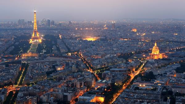 This summer Paris will start dimming its streetlights, though major landmarks such as the Eiffel Tower, will not be affected.